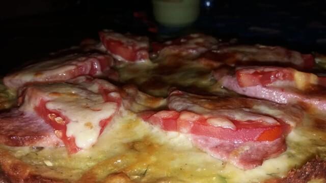 Лятно предложение - пица от тиквички