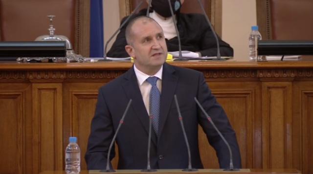 Румен Радев: Още в понеделник ще проведа консултации с парламентарните групи за съставяне на правителство