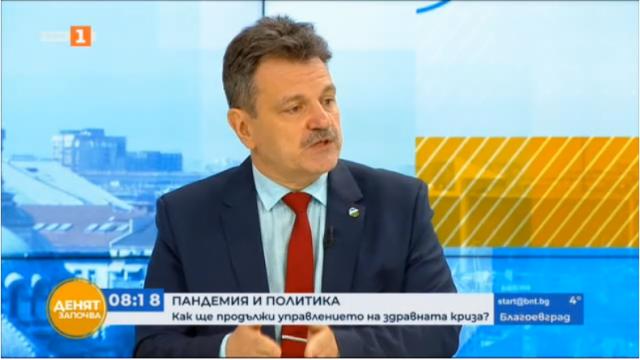 Д-р Александър Симидчиев: Щабът трябва да работи до избора на нов