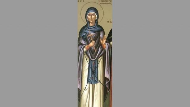 На 11 септември църквата почита Св. преп. Теодора Александрийска, подвизавала се в мъжки образ