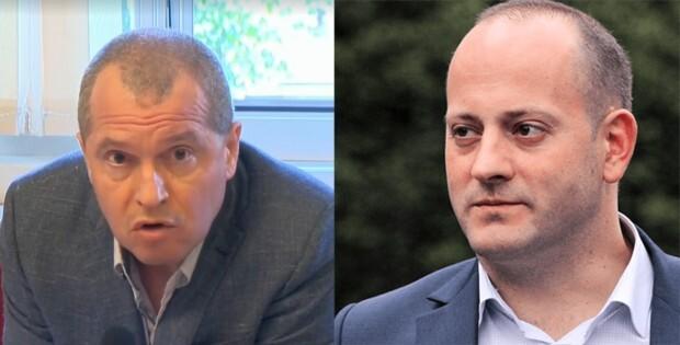 Остри нападки между Тошко Йорданов и Радан Кънев