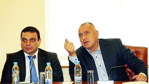 Бойко Борисов и Ивайло Московски днес в Русе