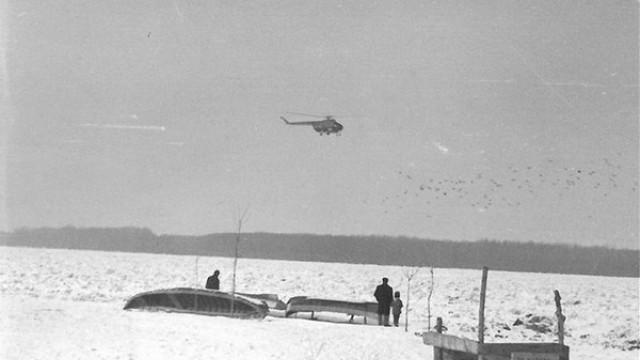 Замръзването на Дунав и как хеликоптер с бомби е разбивал леда през 1985 г.