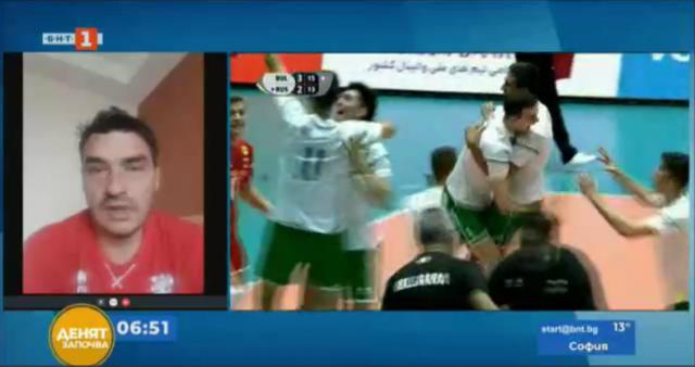 Владо Николов: Каквото и да се случи на финала, нашите волейболисти вече са победители