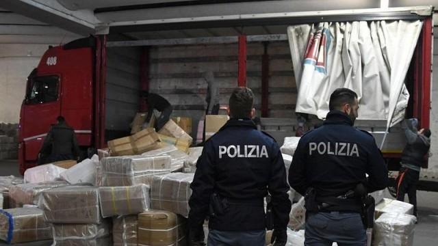 Италия: Хванаха могъщ наркобос, внасял дрога от Колумбия, Афганистан и Албания