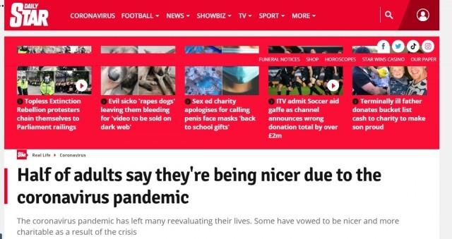 Британско проучване: Коронавирусът направи хората по-добри