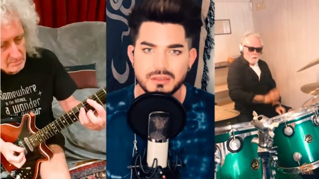 Queen с Адам Ламбърт вдъхват кураж на всички с You Are The Champions (Видео)