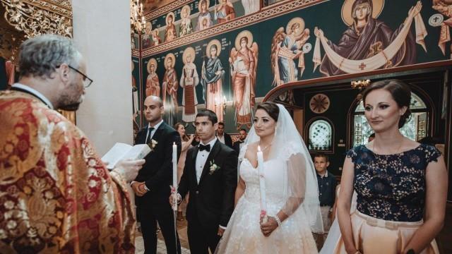 Плевен: Световните и европейски шампиони на България Борислава Ганева и Пламен Кирилов минаха под венчило