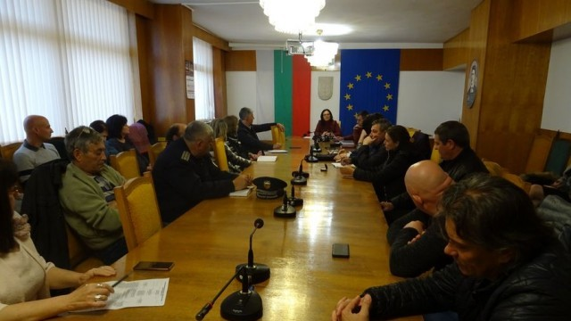 Извънредна разширена среща на щаба за извънредни ситуации в Левски се състоя днес