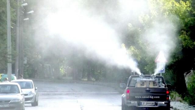 Четири дена пръскат срещу комари на територията на Община Русе