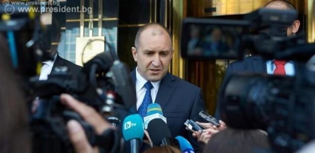Румен Радев: Прокуратурата се очертава все повече като политически играч, който подпомага кризисния ПР на министър-председателя