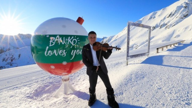 Чуйте как Васко Василев свири Вивалди, карайки ски по снежните склонове на Пирин! (ВИДЕО)