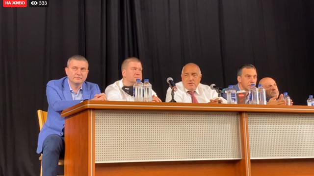 Борисов в Стара Загора: Догодина е тежката битка, тази все още имаме приходи от миналата година (На живо)