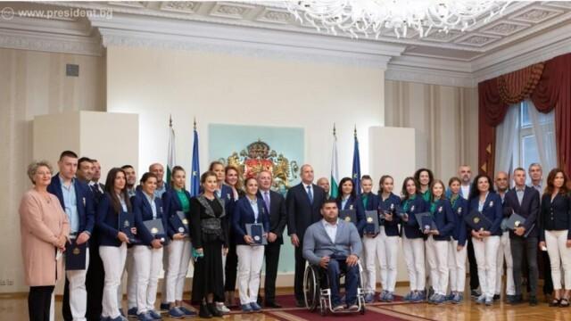 Румен Радев удостои с Почетния знак на президента българските медалисти от Токио 2020