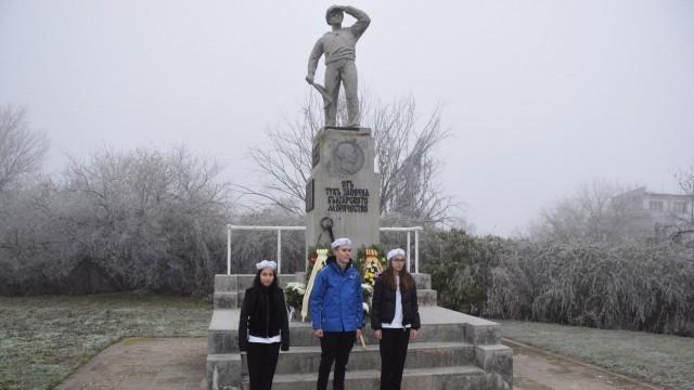 Дунавски флотски отряд отбеляза Никулден с поклонение пред Паметника на моряка
