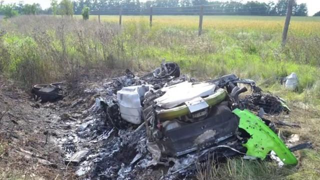 Двама оцеляха при катастрофа с 313 км/ч в Унгария