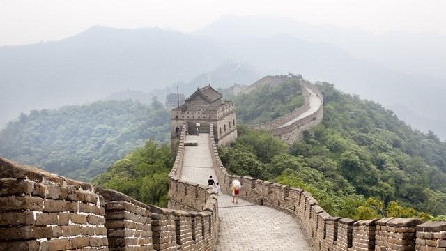 Великата китайска стена намаляла с 30%