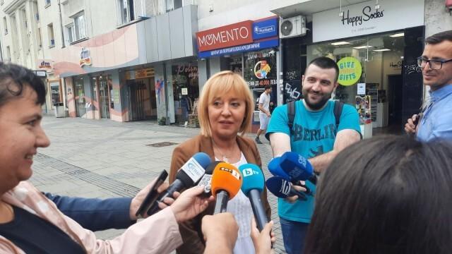 Манолова: Проектът на Петков и Василев е гаранция, че ГЕРБ няма да бъдат допуснати във властта