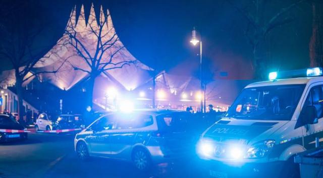 Стрелба в Берлин, един загинал