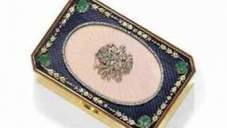 Подарък за българин от руски император продаден за $ 665 000 на търг