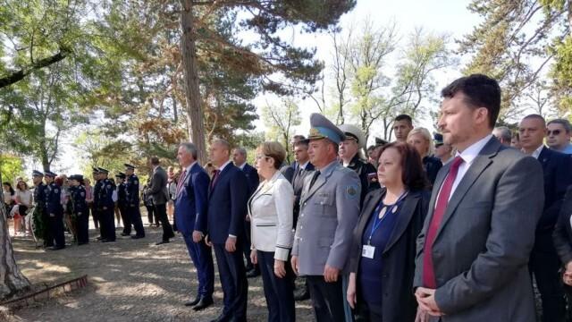 Президентът участва в отбелязването на 144-тата годишнина от Третия щурм за Плевен (СНИМКИ)
