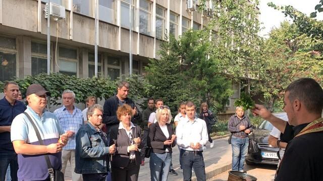 Хората на Слави откриха първи партиен офис във Враца