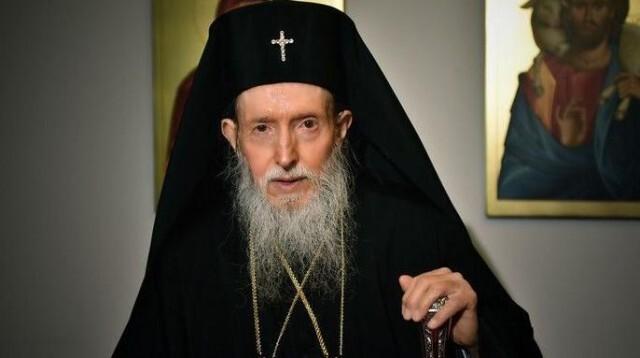 Сливенският митрополит Йоаникий е подал молба за оттегляне от поста си
