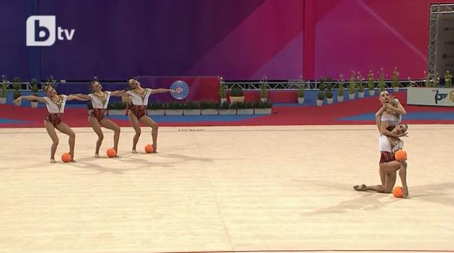 6 златни, 1 сребърен и 2 бронзови медала за художествените ни гимнастички на Световната купа в София