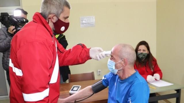 Започна ваксинацията срещу COVID-19 на бездомните и скитащи лица в област Русе