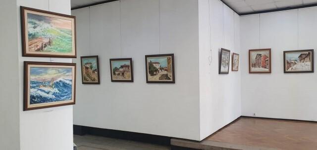Художникът и корабомоделист Славейко Петров откри 17-а самостоятелна изложба