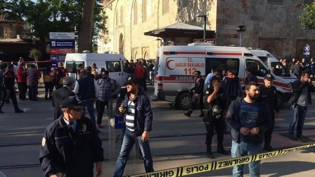 Жена камикадзе се е взривила в Бурса