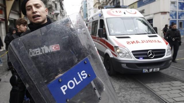 Нов атентат в Истанбул, 4-ма загинали, 20 ранени