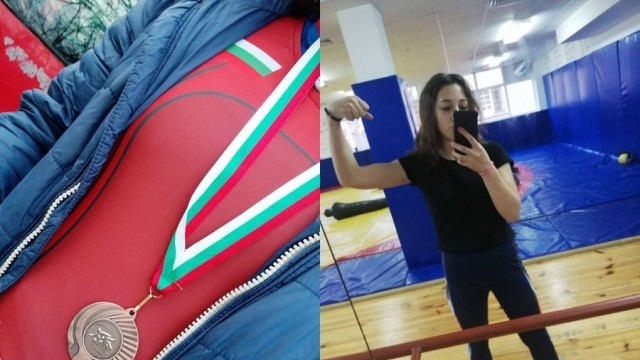 Петнайсетгодишна беленчанка спечели бронзов медал по борба