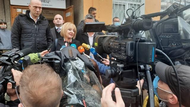 Мая Манолова: Гласувах парите да стигат до хората