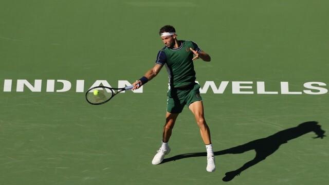 Григор Димитров се класира за полуфинала на турнира в Индиан Уелс