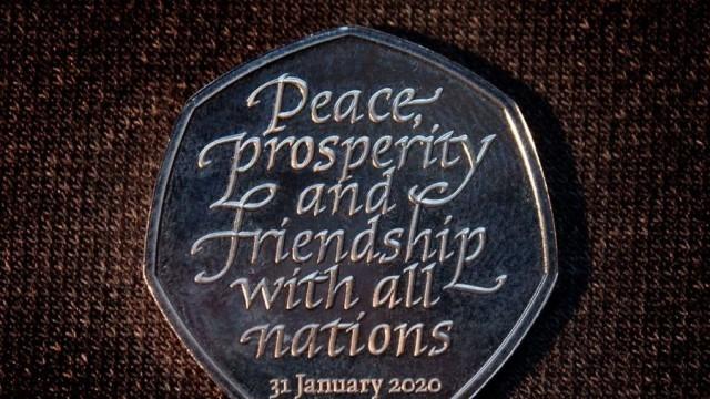 Показаха монетата от 50 пенса, която ще бъде пусната по случай Брекзит