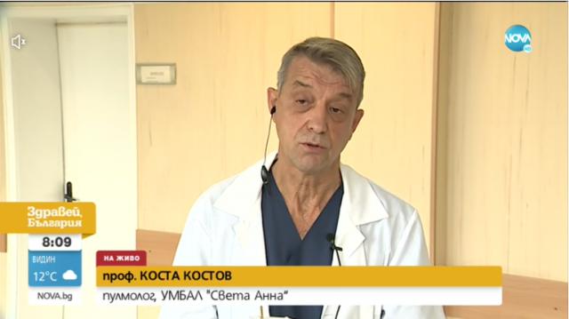 Проф. Костов: Излекуван от COVID-19 може да има симптоми на болестта до 6 месеца