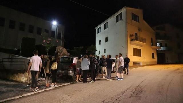 9 труса стреснаха Италия, хората спаха на открито