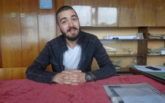 Най-младият кмет в областта: Запомнете това име – Росен Петров, кмет на село Сомовит, община Гулянци