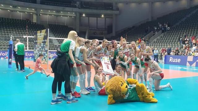 В Русе България стана №1 в Златната лига по волейбол при жените