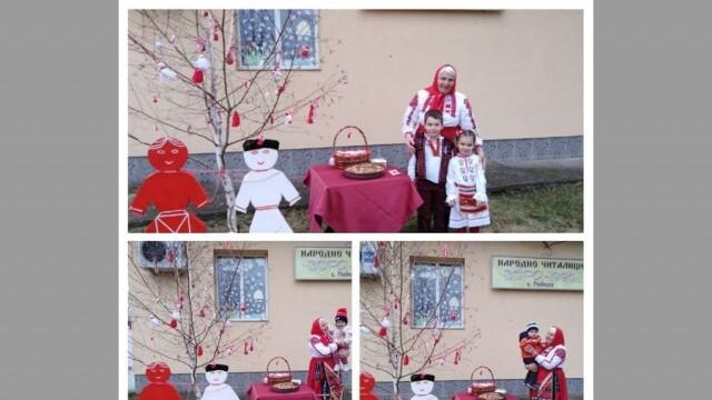 Баба Марта зарадва децата в село Победа