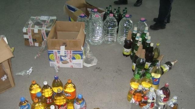 Цигари и наливен алкохол задържаха  в района на Дунав мост 2