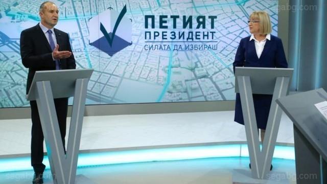 България не успя да избере петия си президент на първия тур днес