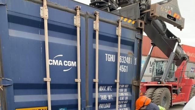 Няма установен радиоактивен или токсичен отпадък в контейнерите с отпадъци от Италия  в Бургас