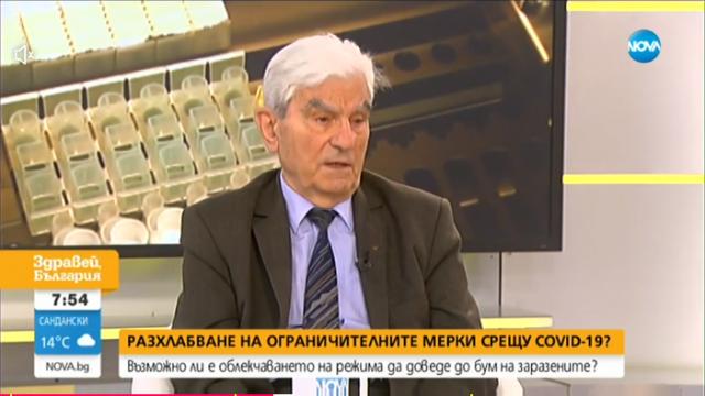 Академик Петрунов: Маските не са папийонки, трябва да се научим да живеем в условия на карантина