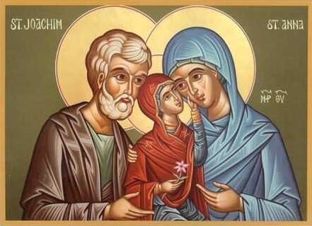 Почитаме паметта на богоотците Йоаким и Анна - родителите на Пресвета Богородица