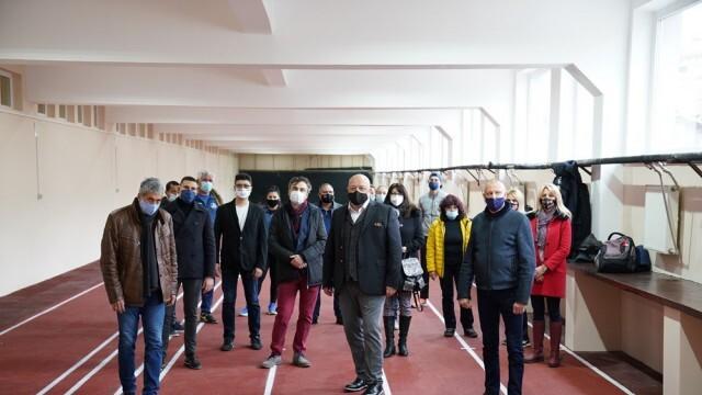 Красен Кралев откри изцяло обновената и модернизирана зала за лека атлетика в Русе