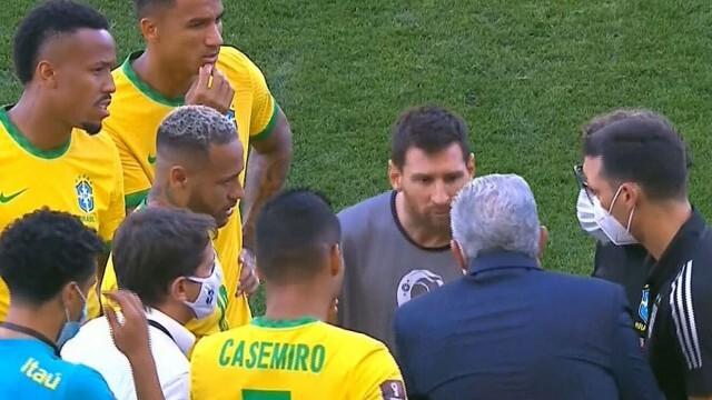 Здравните власти в Бразилия вбесиха Меси