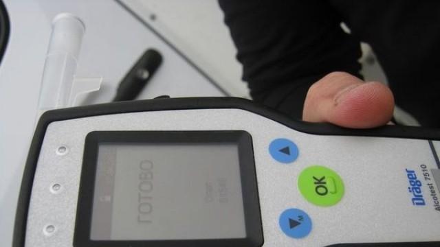 Примерен пиян шофьор даде доброволно кръвна проба за алкохол