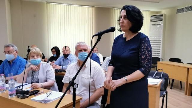 Мария Монова положи клетва като общински съветник в местния парламент на Плевен
